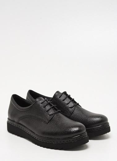 F By Fabrika Kadın Bakır Ayakkabı MILA Siyah
